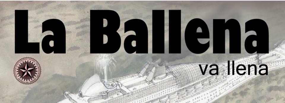 """Estreno: """"La Ballena va llena"""" del Colectivo Estrella del Oriente."""